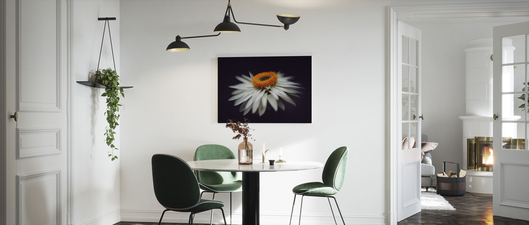 Magnific Flower - Canvas print - Kitchen