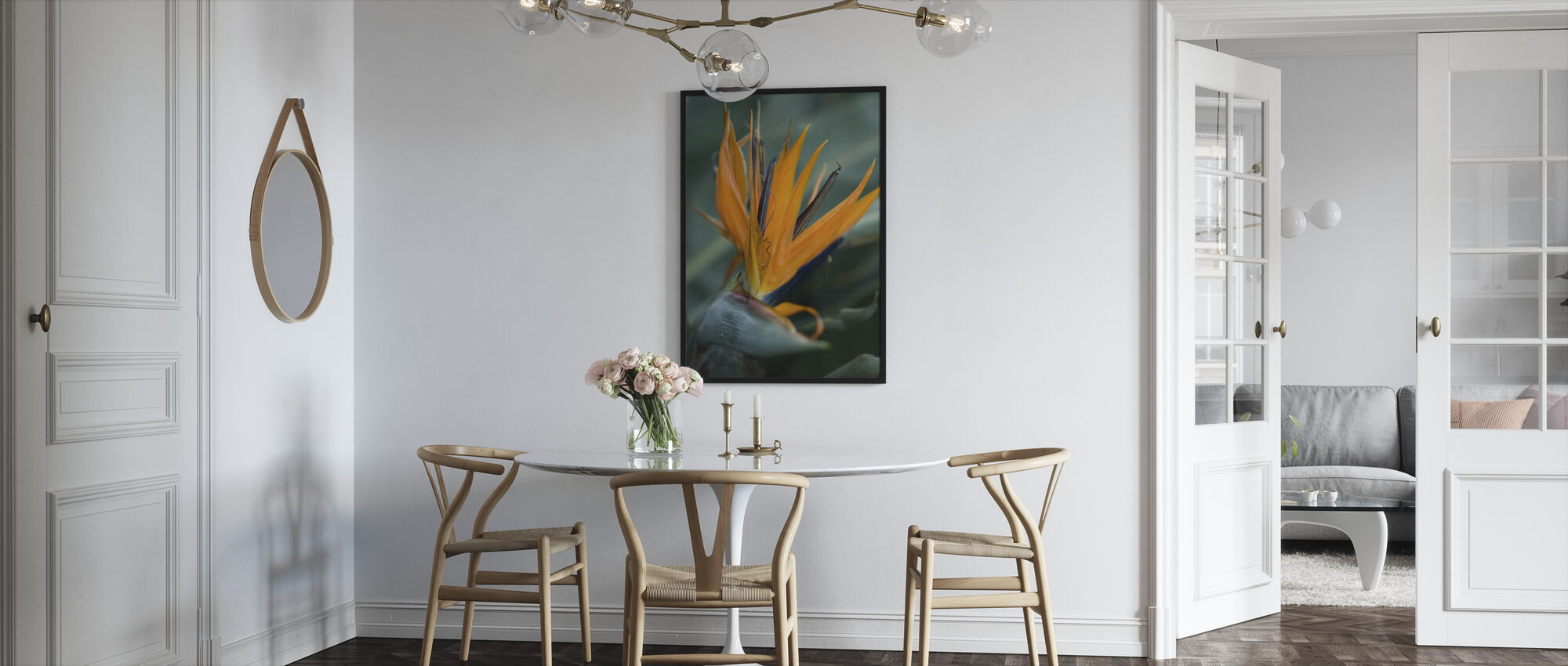 Somewhere in the Jungle - Framed print - Kitchen
