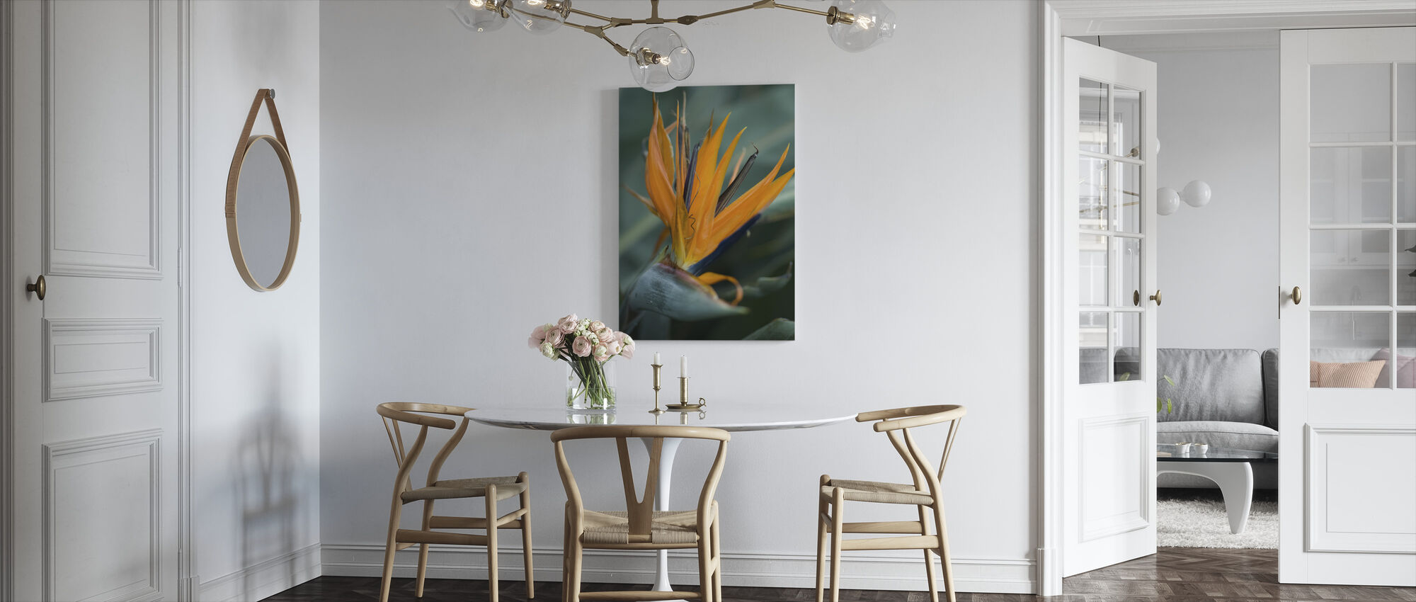 Somewhere in the Jungle - Canvas print - Kitchen