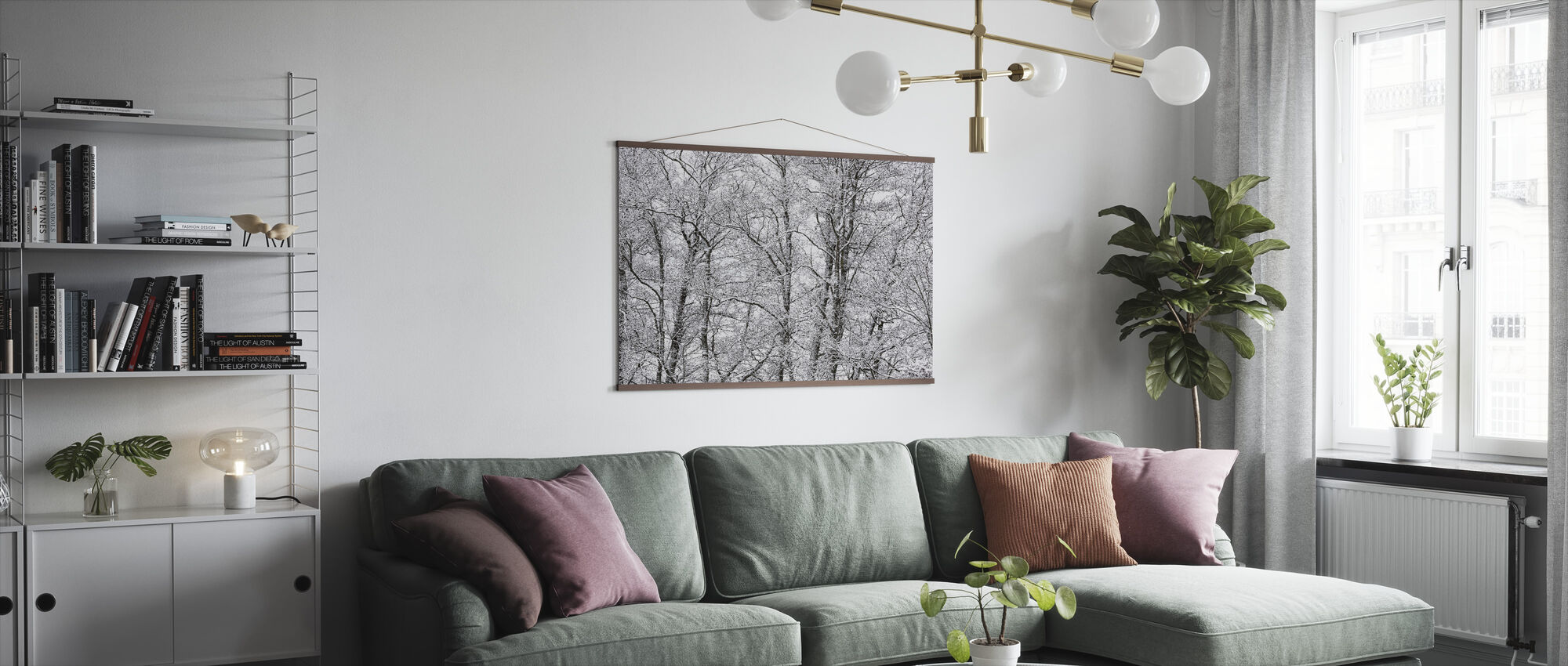 Trees - Poster - Living Room
