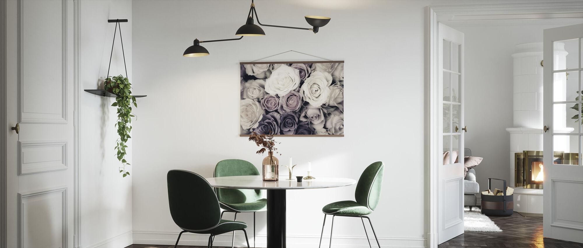 Mørke roser - Plakat - Kjøkken