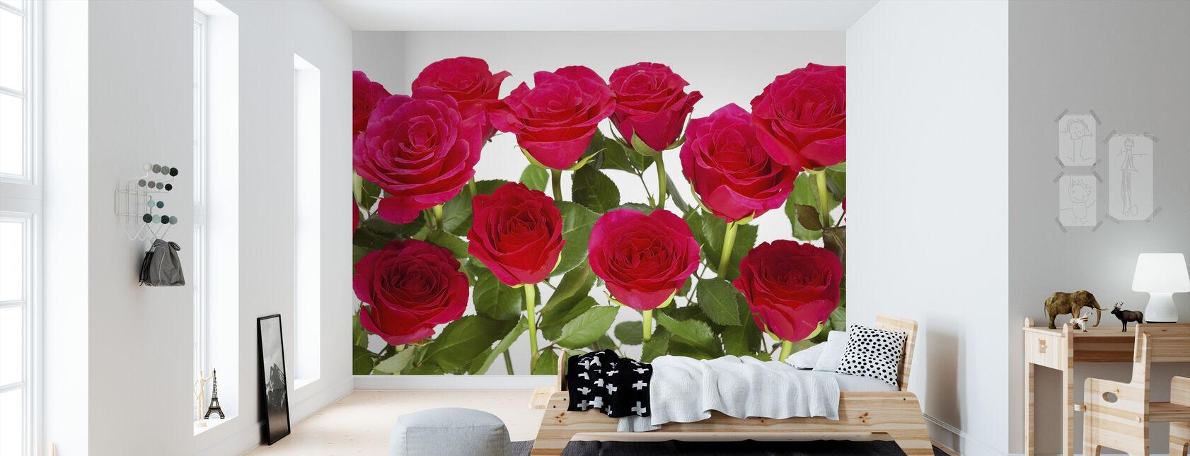 Red Roses - Wallpaper - Kids Room