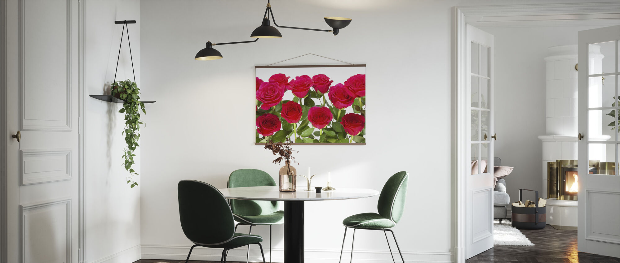 Red Roses - Poster - Kitchen