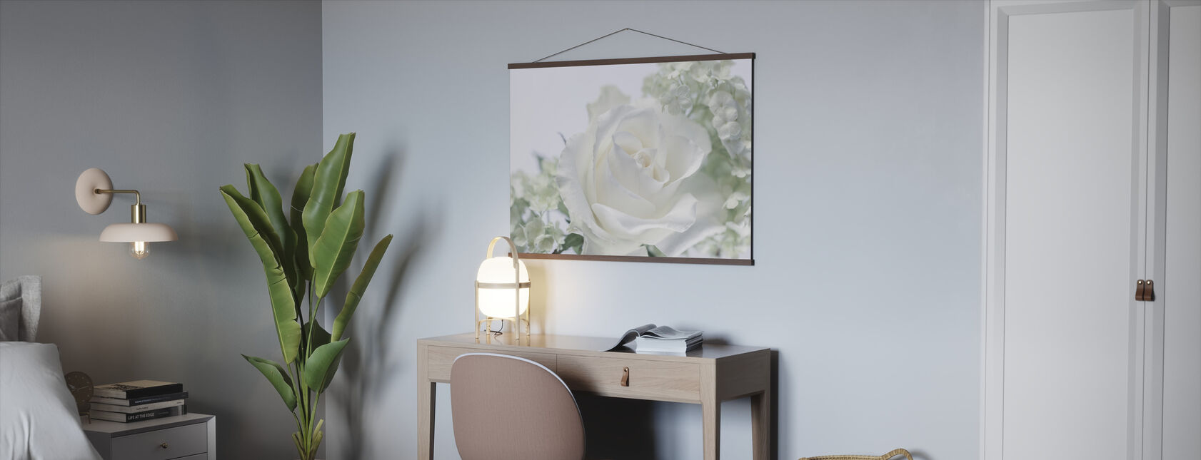 Hvite Rose II - Plakat - Kontor