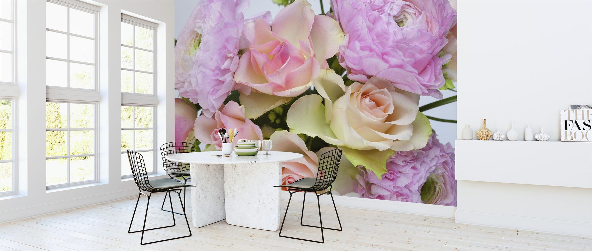Flowers - Wallpaper - Kitchen