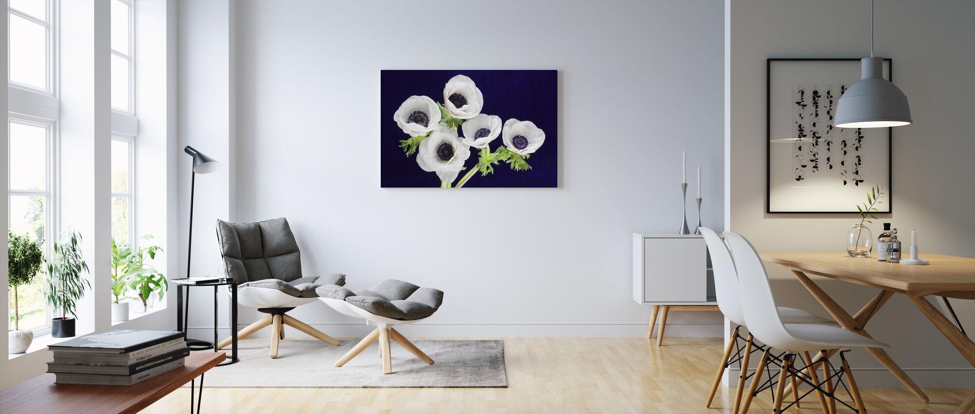 Flower Blooms - Canvas print - Living Room