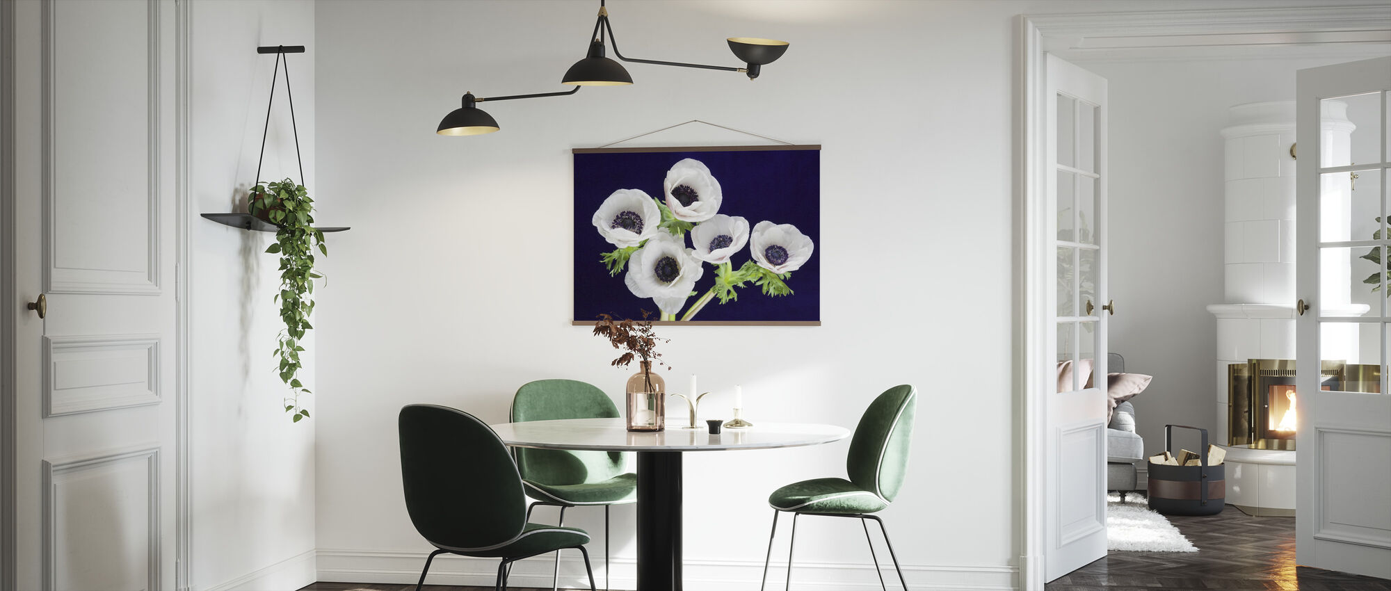 Flower Blooms - Poster - Kitchen