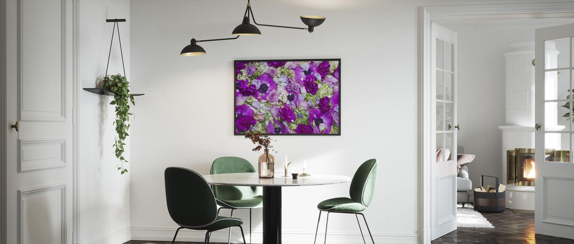 Fresh Flowers - Framed print - Kitchen