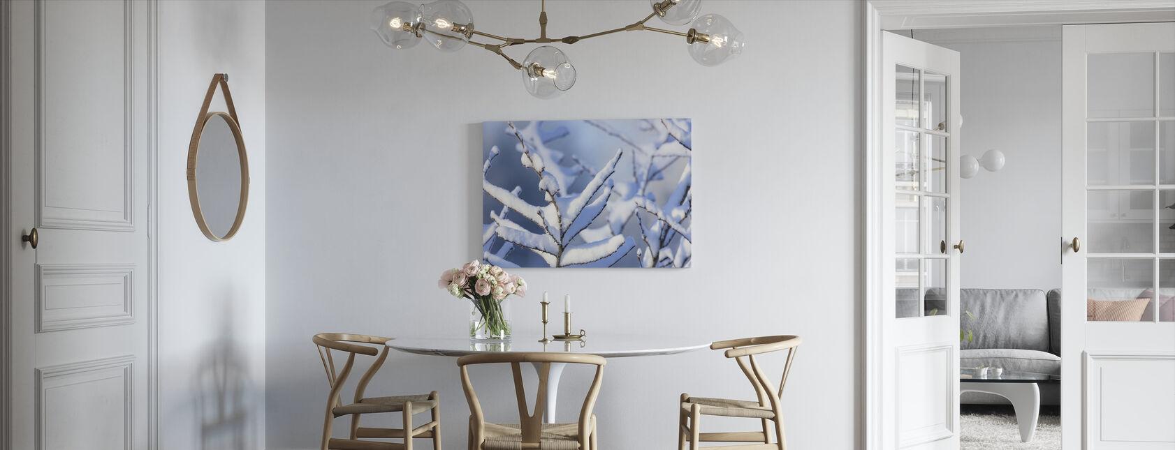 Jäätynyt haara - Canvastaulu - Keittiö