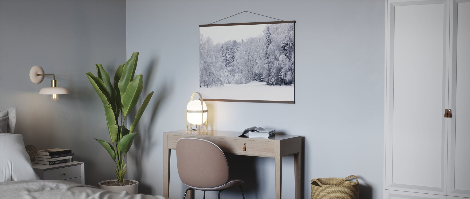 Forest Snow - Poster - Office
