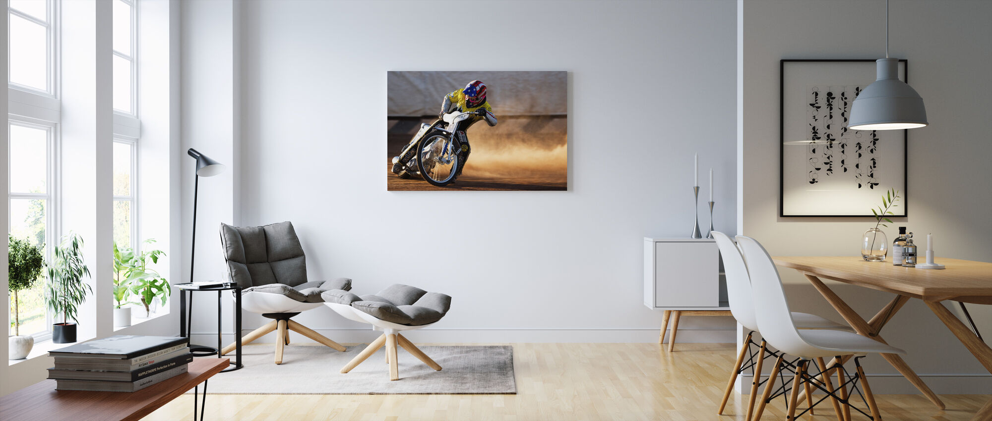 Going Sideways - Canvas print - Living Room