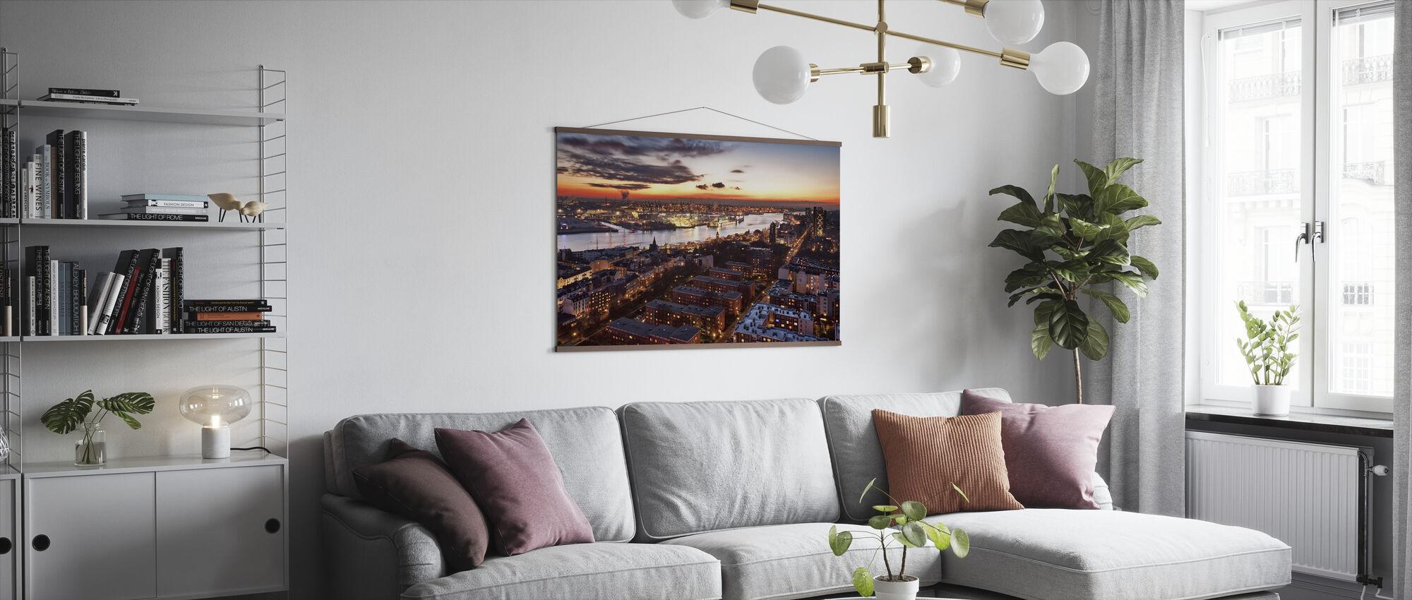 Wintersunset - Poster - Living Room