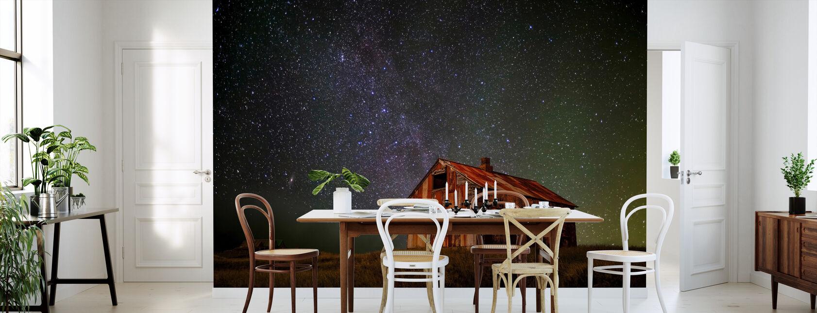 Space House - Tapetti - Keittiö
