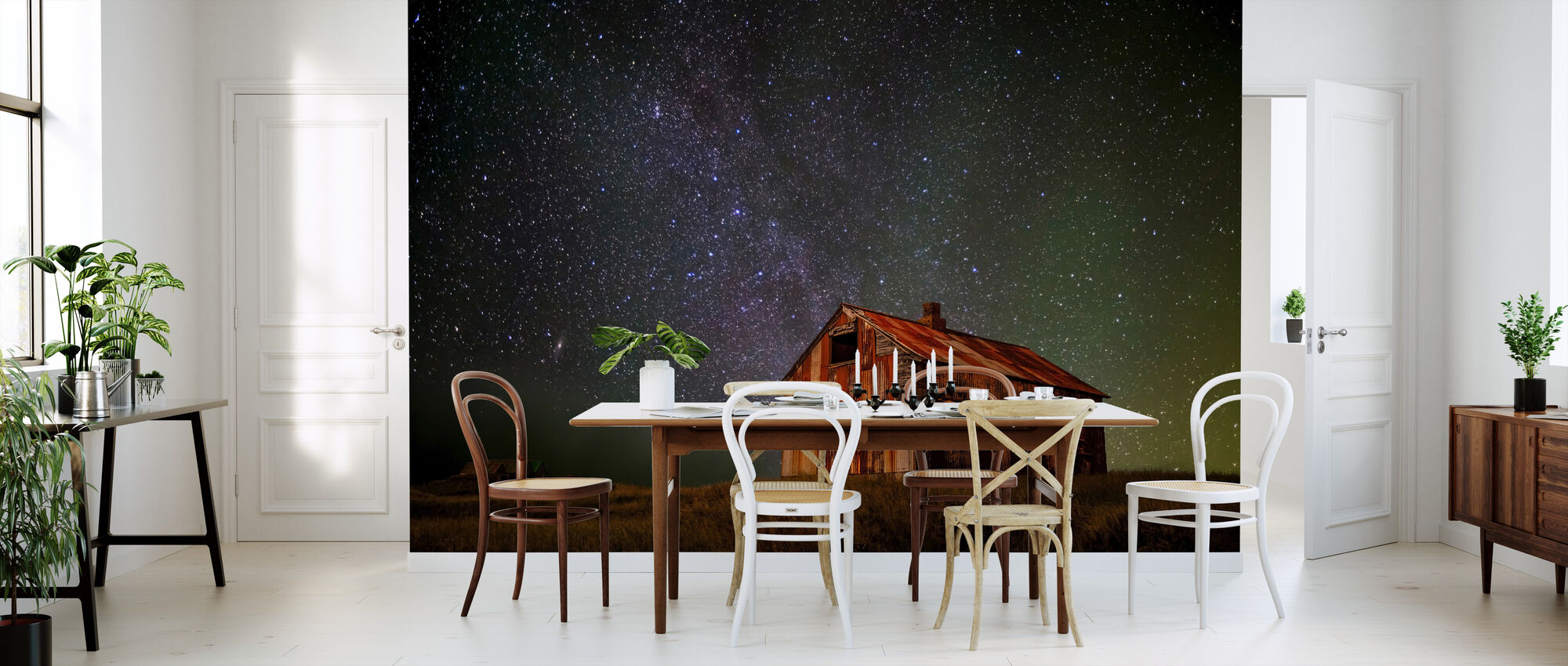 Space House - Wallpaper - Kitchen