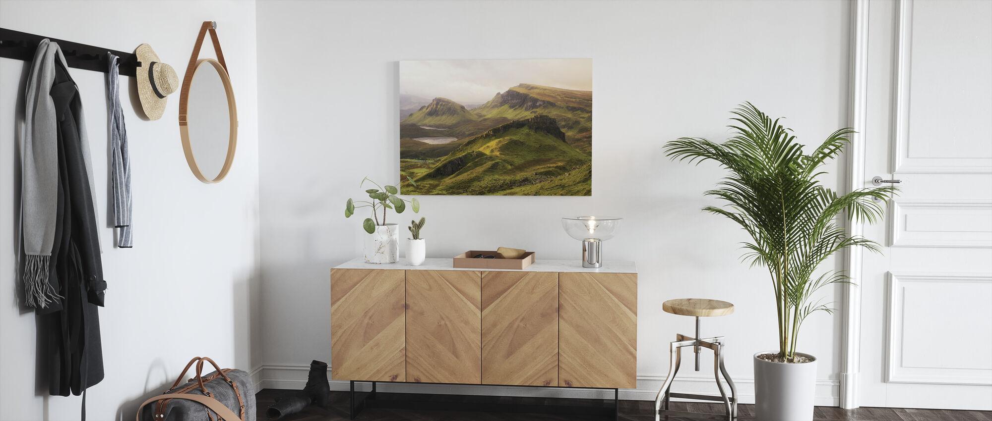Quiraing - Canvas print - Hallway