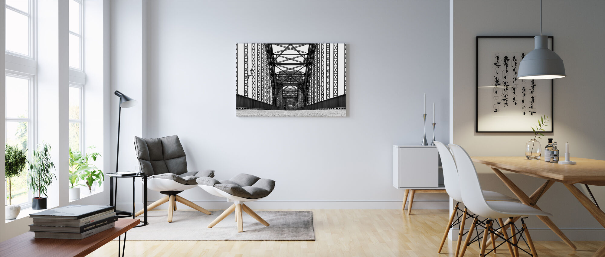Perspective - Canvas print - Living Room