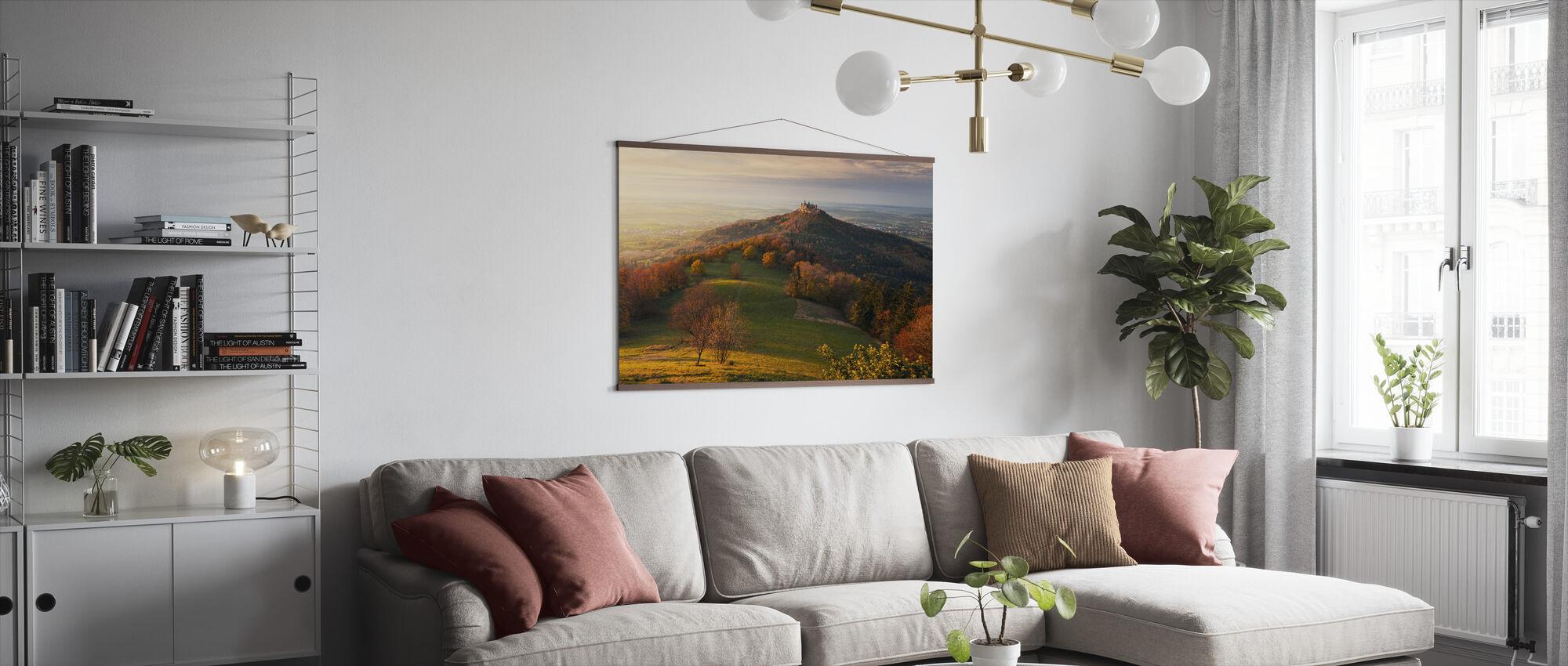 Fairy Castle - Poster - Living Room