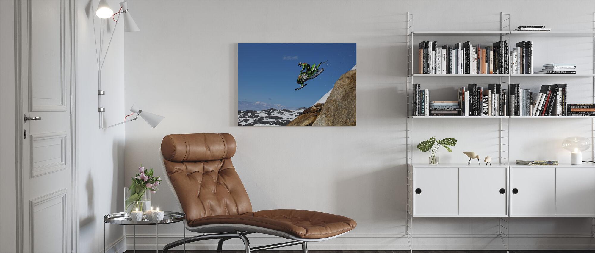 Free Fall - Canvas print - Living Room