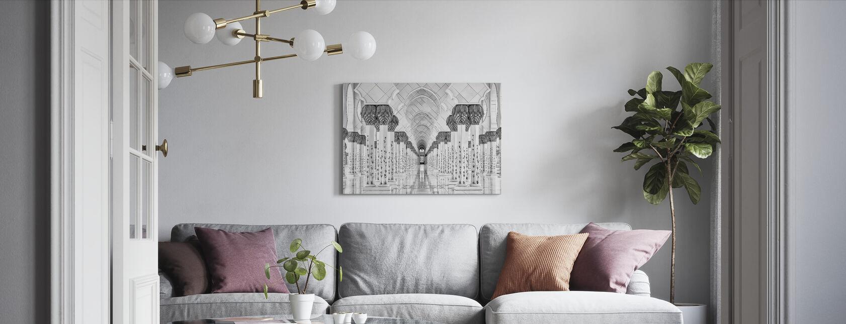 Symmetri - Billede på lærred - Stue