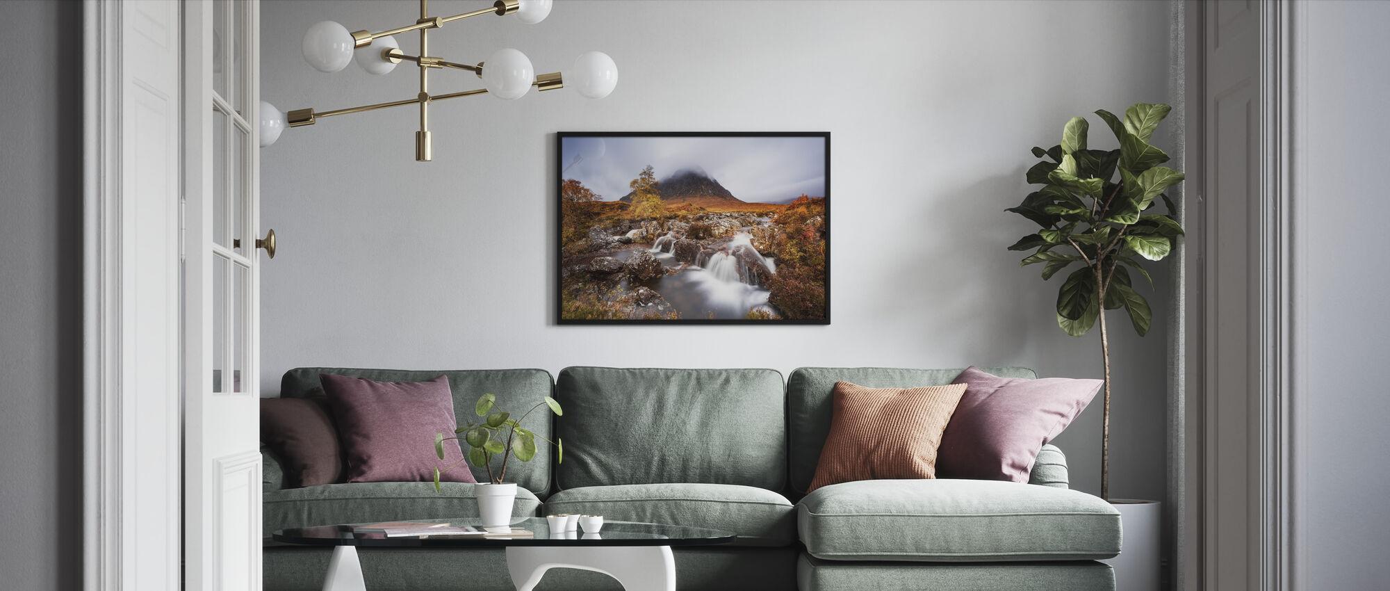 Autumn in the Glencoe - Framed print - Living Room