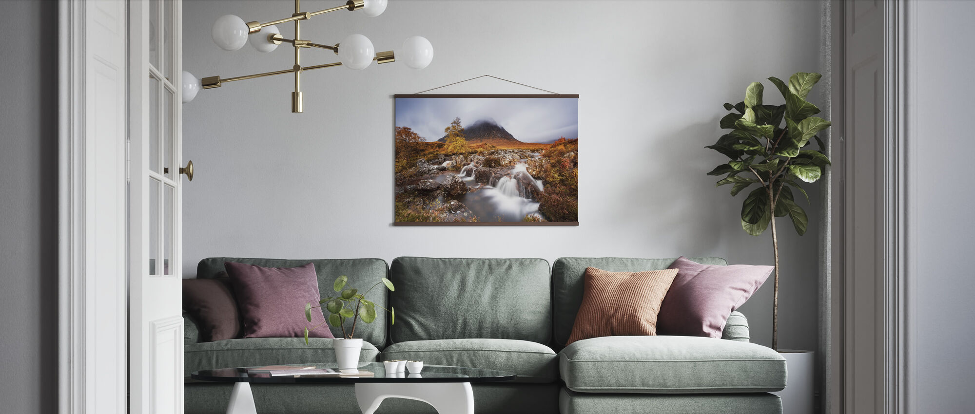 Autumn in the Glencoe - Poster - Living Room