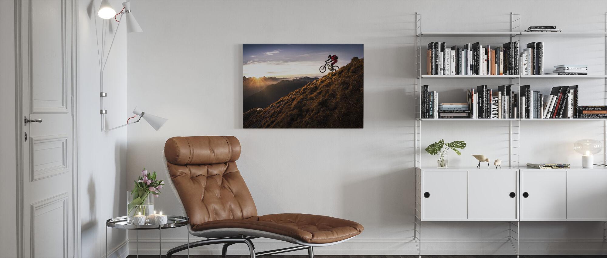 Live the Adventure - Canvas print - Living Room