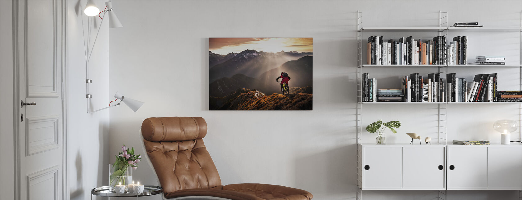 Just Ride - Canvas print - Living Room