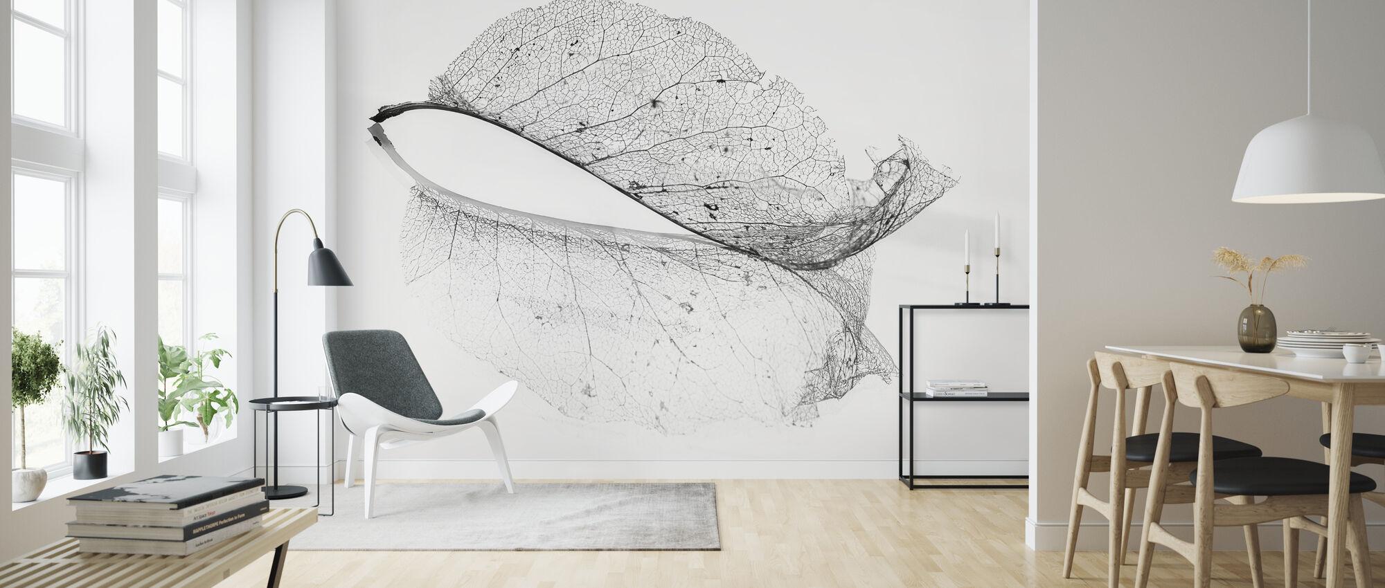 Old Leaf - Wallpaper - Living Room
