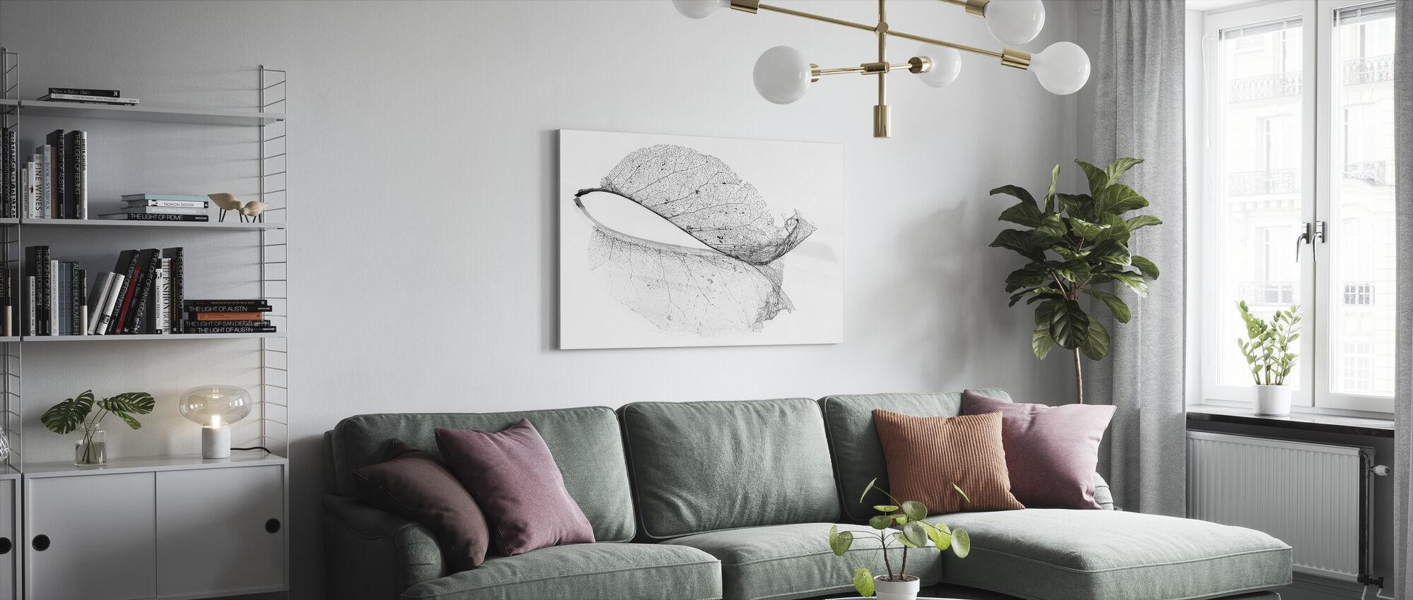 Oud-blad - Canvas print - Woonkamer