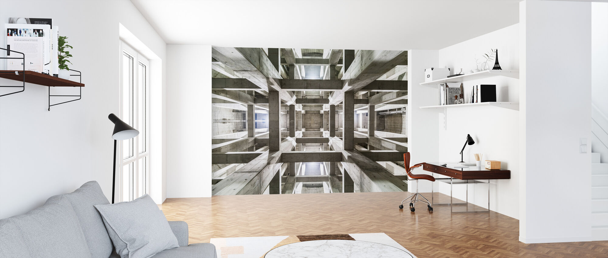 Ceiling - Wallpaper - Office