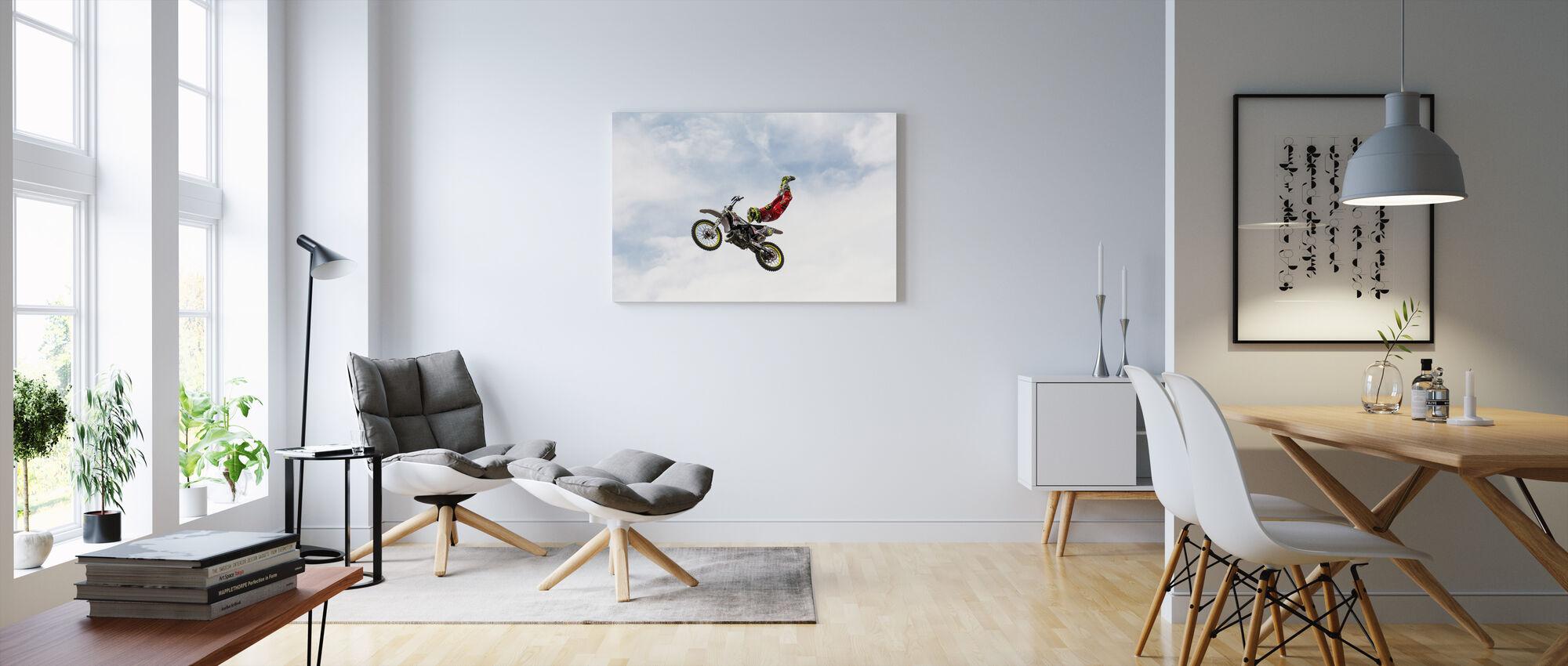 No Hands Superflyer - Canvas print - Living Room