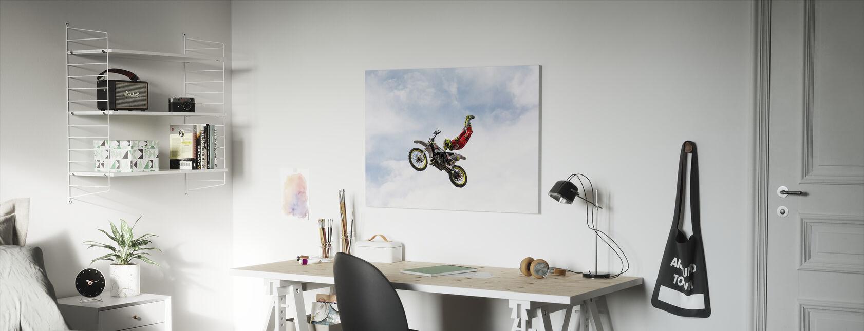 No Hands Superflyer - Canvas print - Kids Room