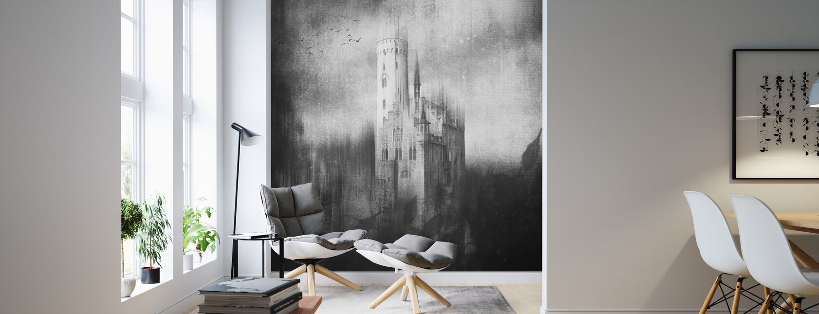 Lichtenstein Castle - Wallpaper - Living Room