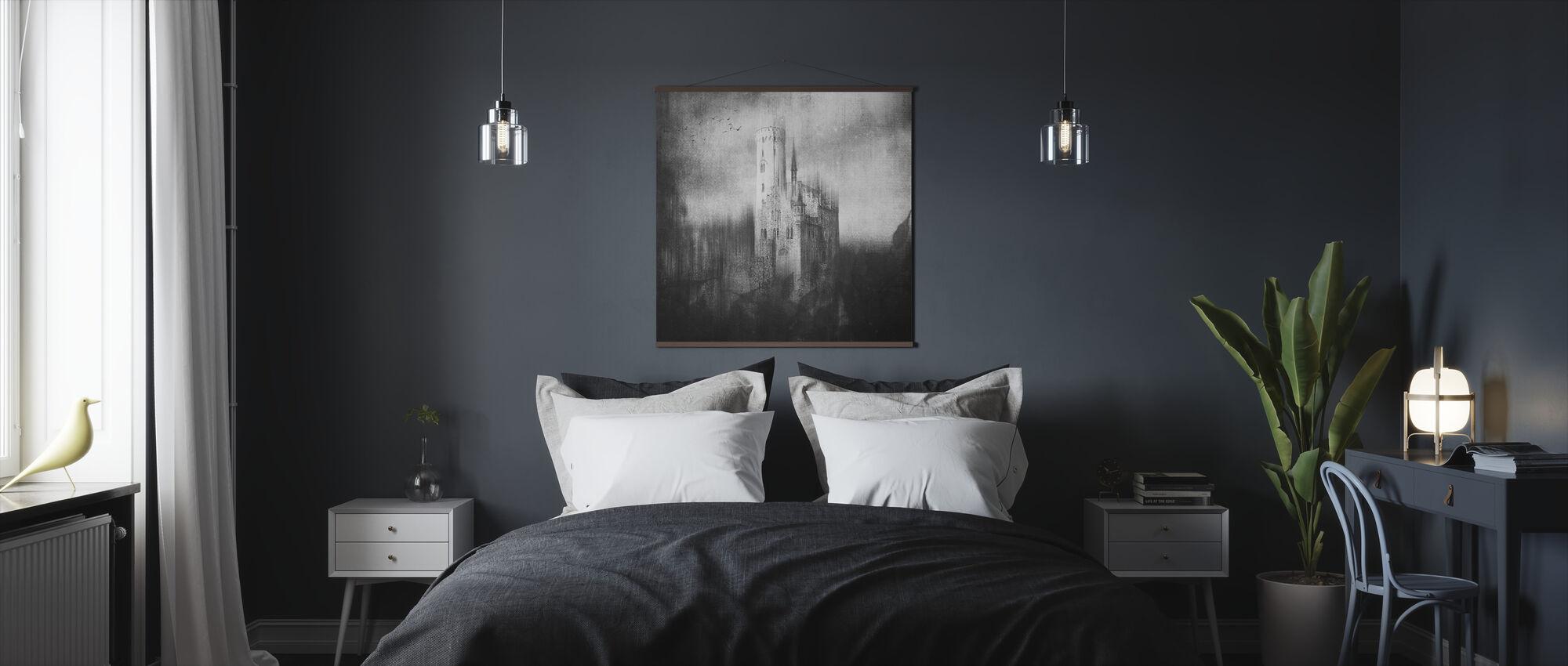 Lichtenstein Castle - Poster - Bedroom