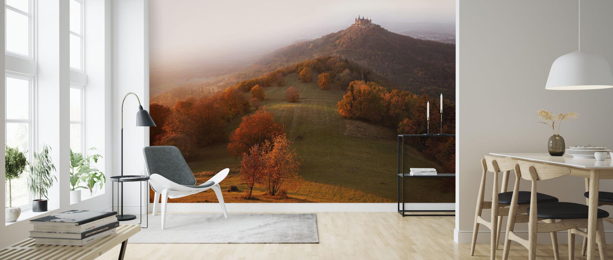 Autumn on the Swabian Alb - Wallpaper - Living Room