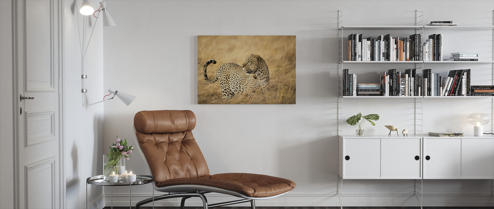 Watching - Canvas print - Living Room