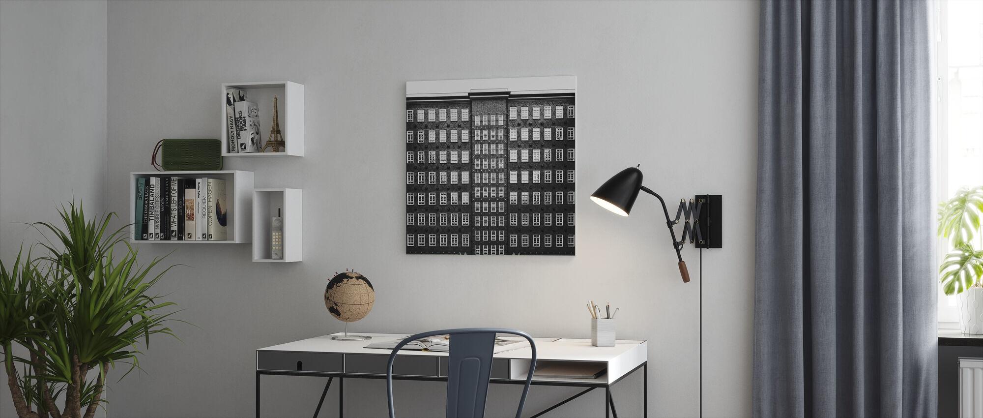 Kontorhaus Quarter - Hamburg - Canvas print - Office