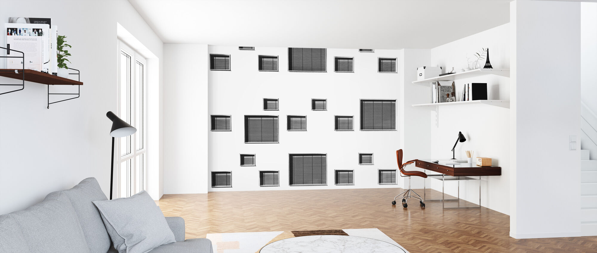 Selection of Rectangles - Wallpaper - Office