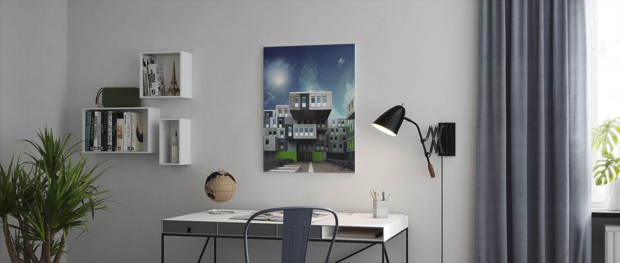 Sahin - Canvas print - Office