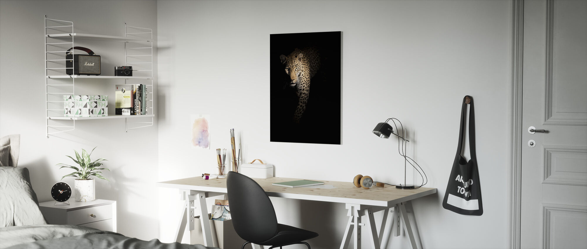 Out of the Darkness - Canvas print - Kids Room