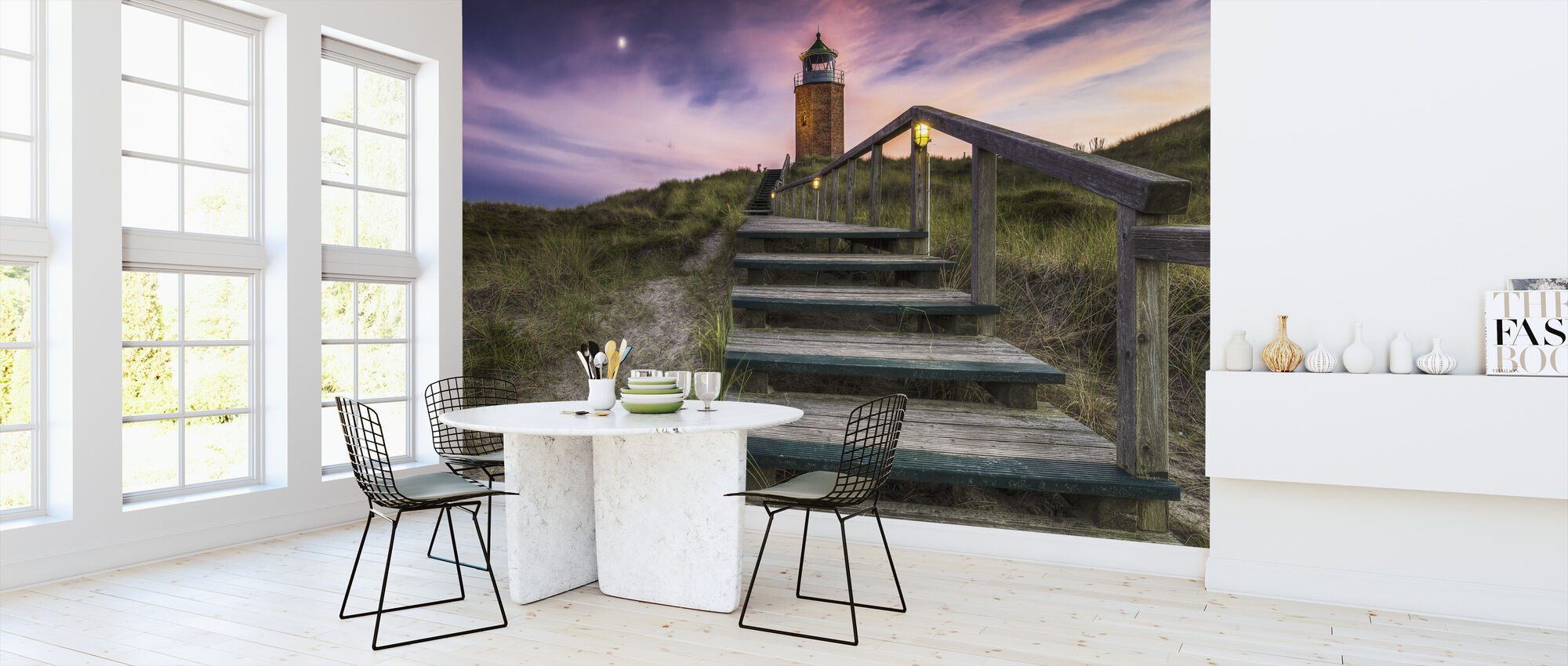 Way to Lighthouse - Wallpaper - Kitchen