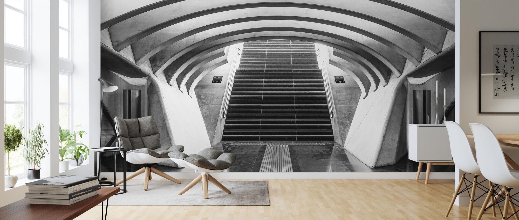 Six and Seven - Wallpaper - Living Room