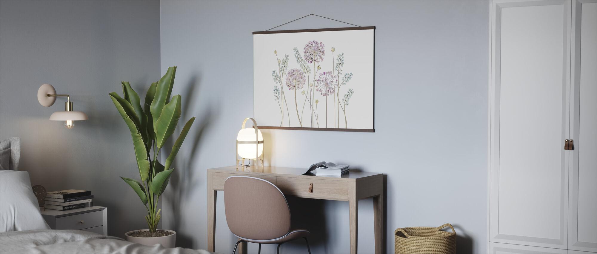 Allium - Poster - Office
