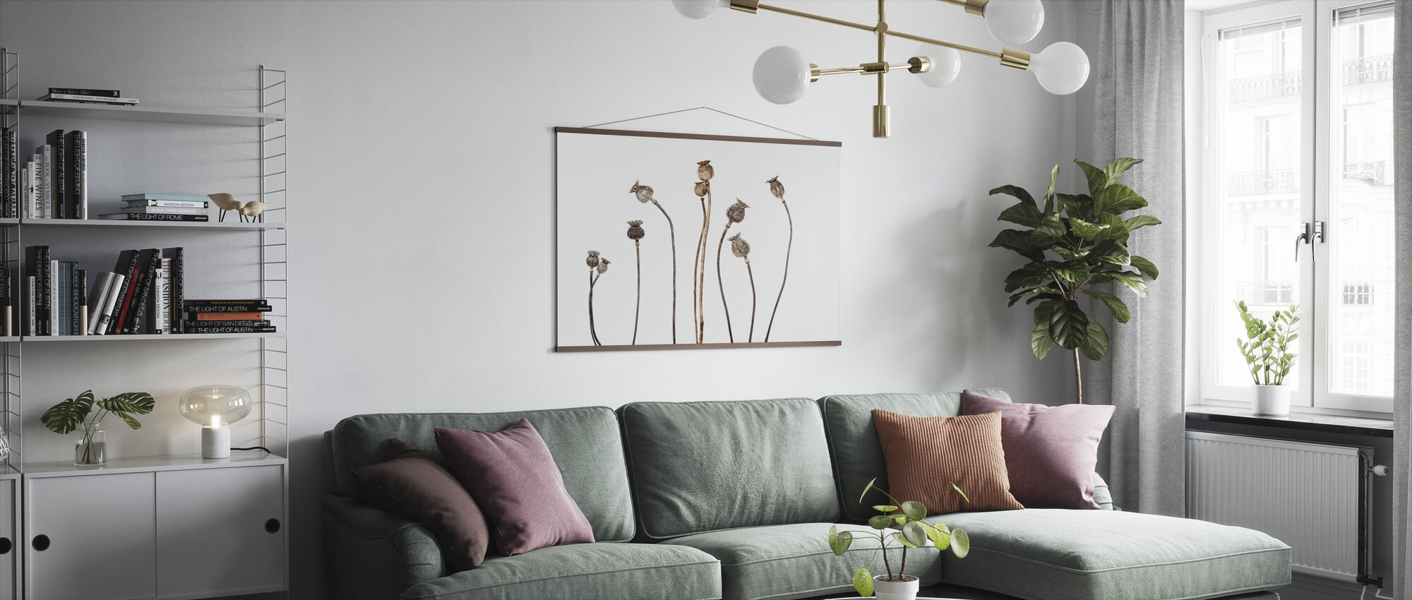 Poppies - Poster - Living Room