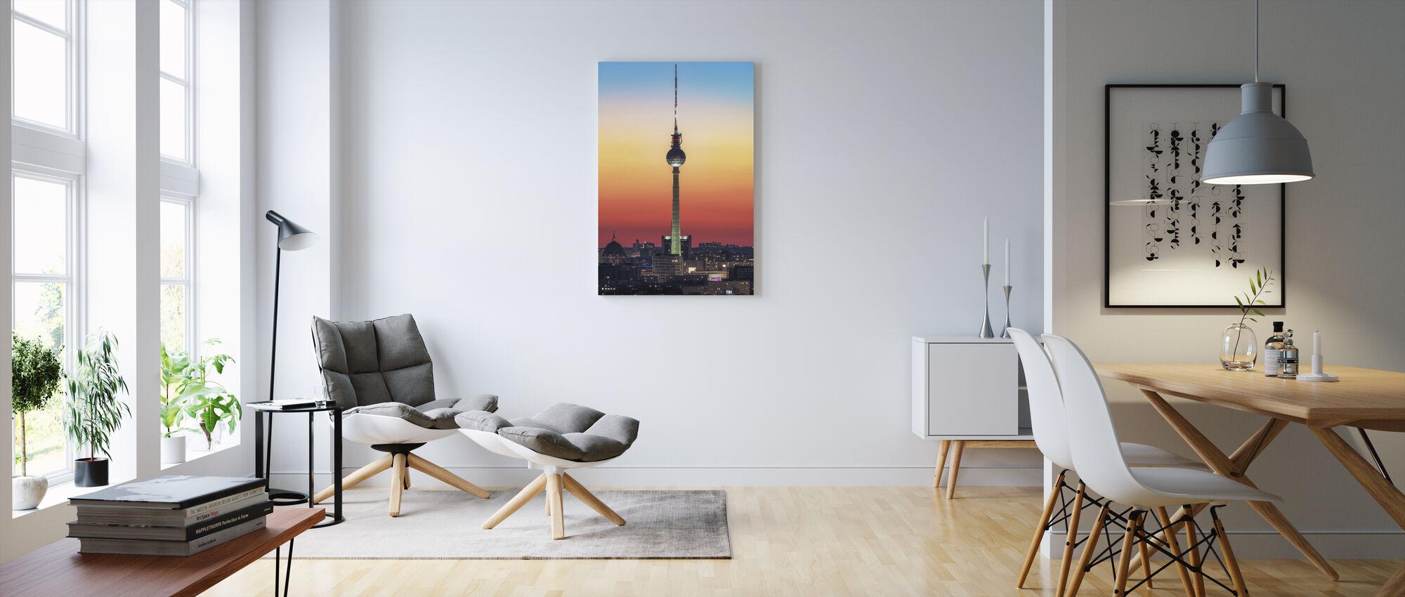 Berlin - Pastell Study - Canvastavla - Vardagsrum