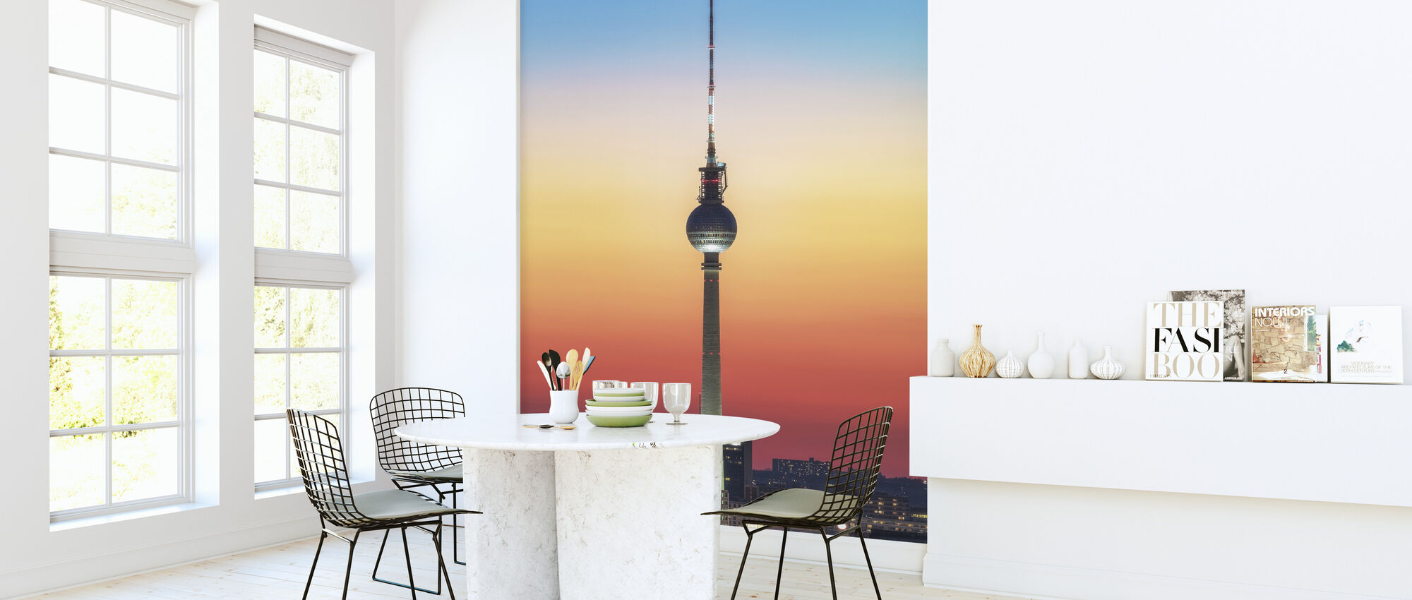 Berlin - Pastell Study - Wallpaper - Kitchen
