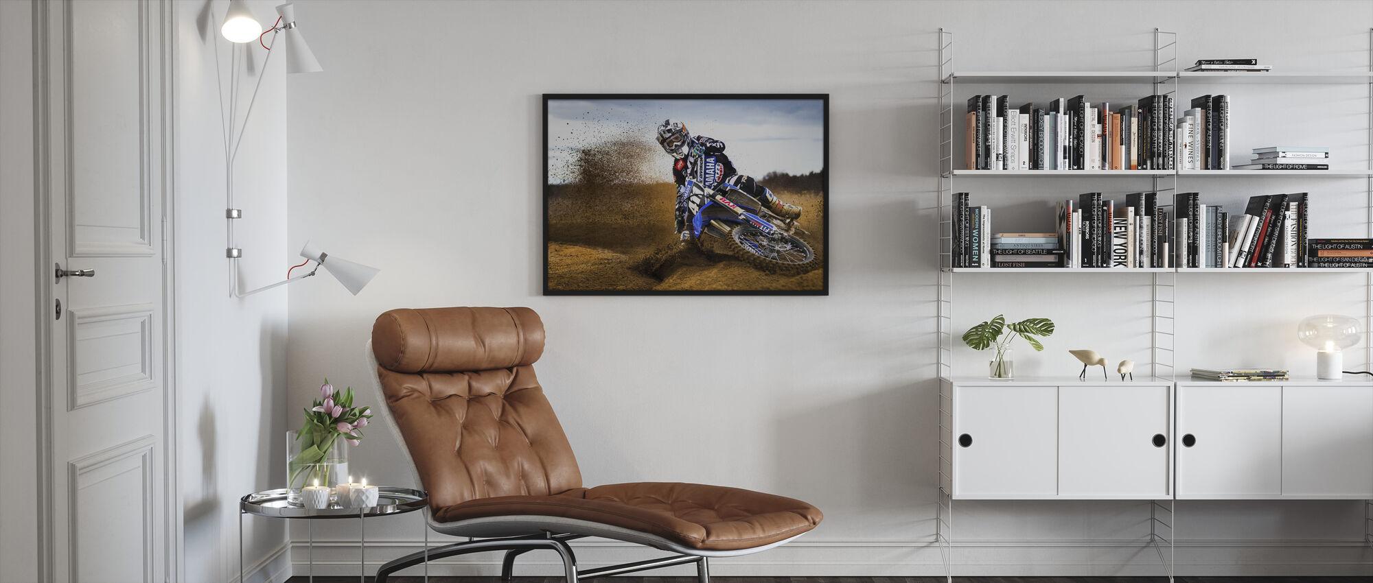 Desert King - Framed print - Living Room