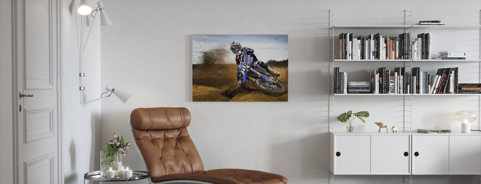 Woestijnkoning - Canvas print - Woonkamer