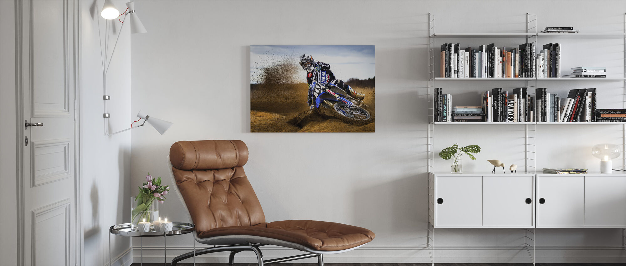 Desert King - Canvas print - Living Room