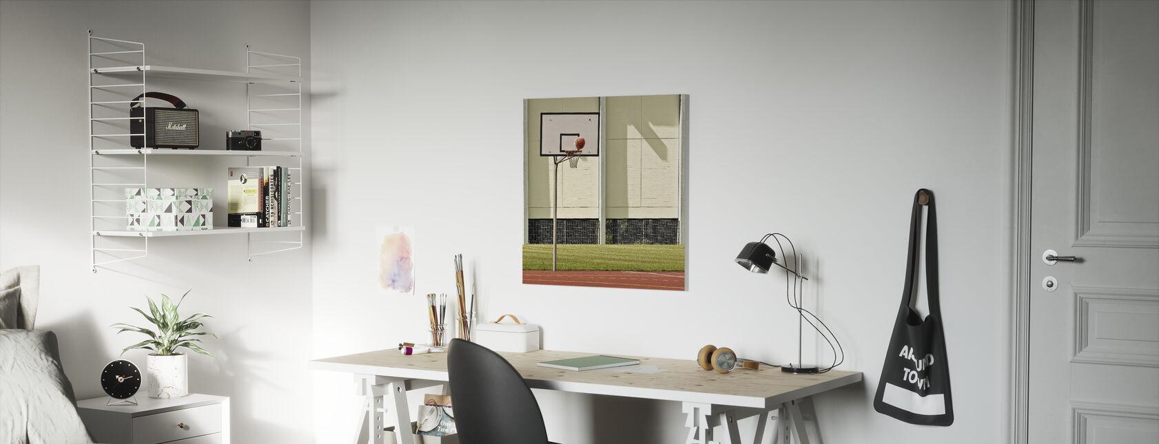 Doelpunt - Canvas print - Kinderkamer